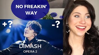 CONFIDENCE COACH reacts to Dimash Opera 2