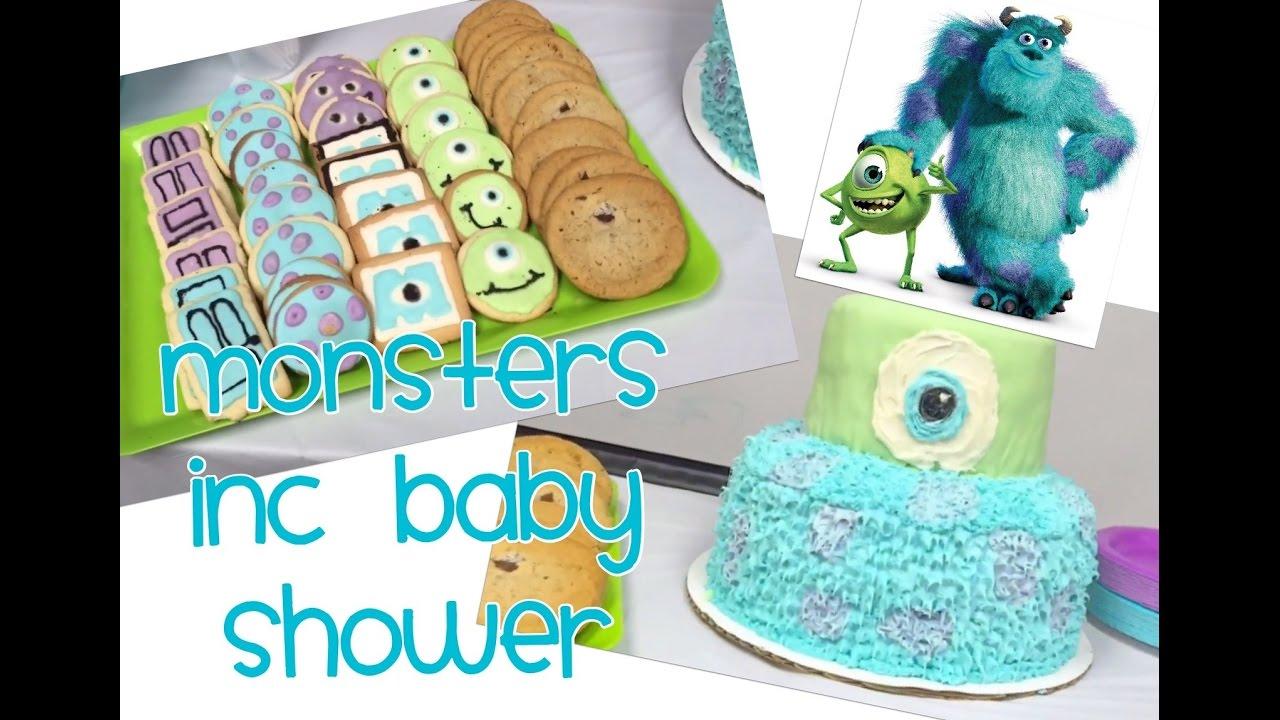 Vlog: Monsters Inc Baby Shower
