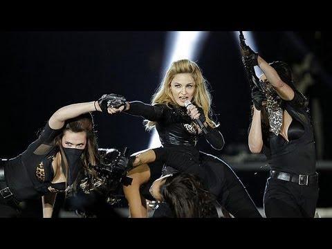 Madonna top of the cash pops