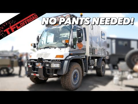 Move Over G-Wagen! The Unimog RV Is The Ultimate Mercedes Off-Roader!