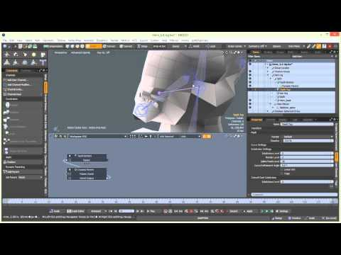 Mythical Character Creation in Modo: Part 6-3