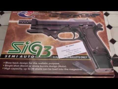 Unboxing Beretta m93r (HD)