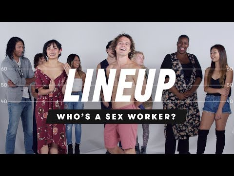 People Guess Who's a Sex Worker from a Group of Strangers |