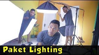 Unboxing & Review Lighting Softbox untuk studio youtube laiqul