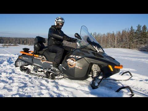 Самый роскошный снегоход. Lynx Adventure GT 900 ACE, обзор и тест-драйв