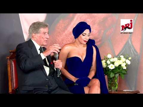 Lady Gaga & Tony Bennett - conférence de presse à Bruxelles