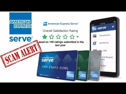 SCAM: American Express Prepaid AMEX Serve