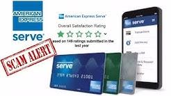 SCAM: American Express Prepaid AMEX Serve