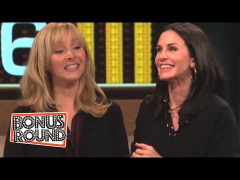 Ultimate Friends Quiz Courteney Cox Tests Lisa Kudrows Friends Knowledge On Celebrity Name Game!