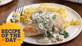 Recipe of the Day: Creamy Skillet Chicken | Food Network