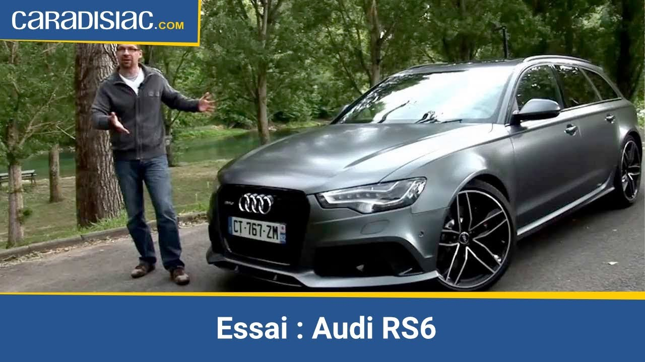 Essai Audi Rs6 Youtube