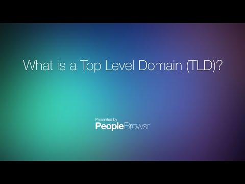 What is a Top Level Domain (TLD)?