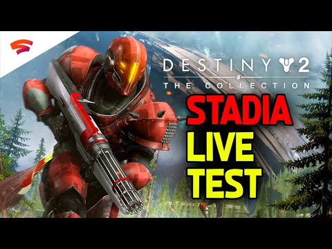 Destiny 2 On Google Stadia! Will It Work? How Is The Lag??