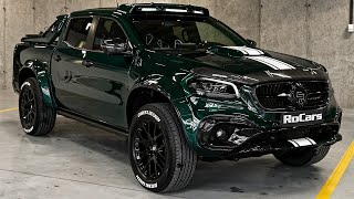 Mercedes X Class Racing Green Edition - Wild Pickup from Carlex Design