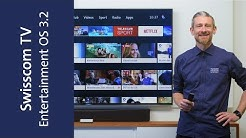 Swisscom TV mit Entertainment OS 3.2 – ein kleines, feines Update