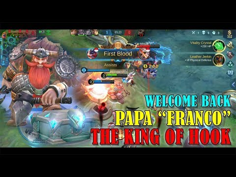 Welcome Back Franco The King Of Hook | Mobile Legends Indonesia