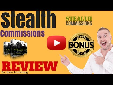 Stealth Commissions Review, ⚠️WARNING⚠️ DON'T BUY STEALTH COMMISSIONS WITHOUT MY 👷CUSTOM👷 BONUSES!