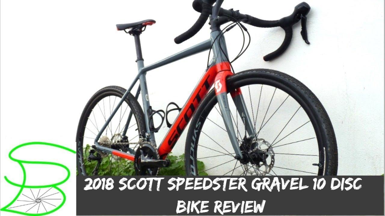 2018 Scott Speedster Gravel 10 Disc Bike Review || SPARK BIKE - YouTube