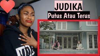 Judika - Putus Atau Terus (Official Music Video)   Reaction