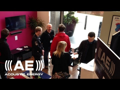 Acoustic Energy at Sound & Vision - The Bristol Show 2016