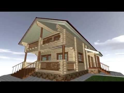 Проект деревянного дома Финский дом - 182 м2 с описанием. North Forest