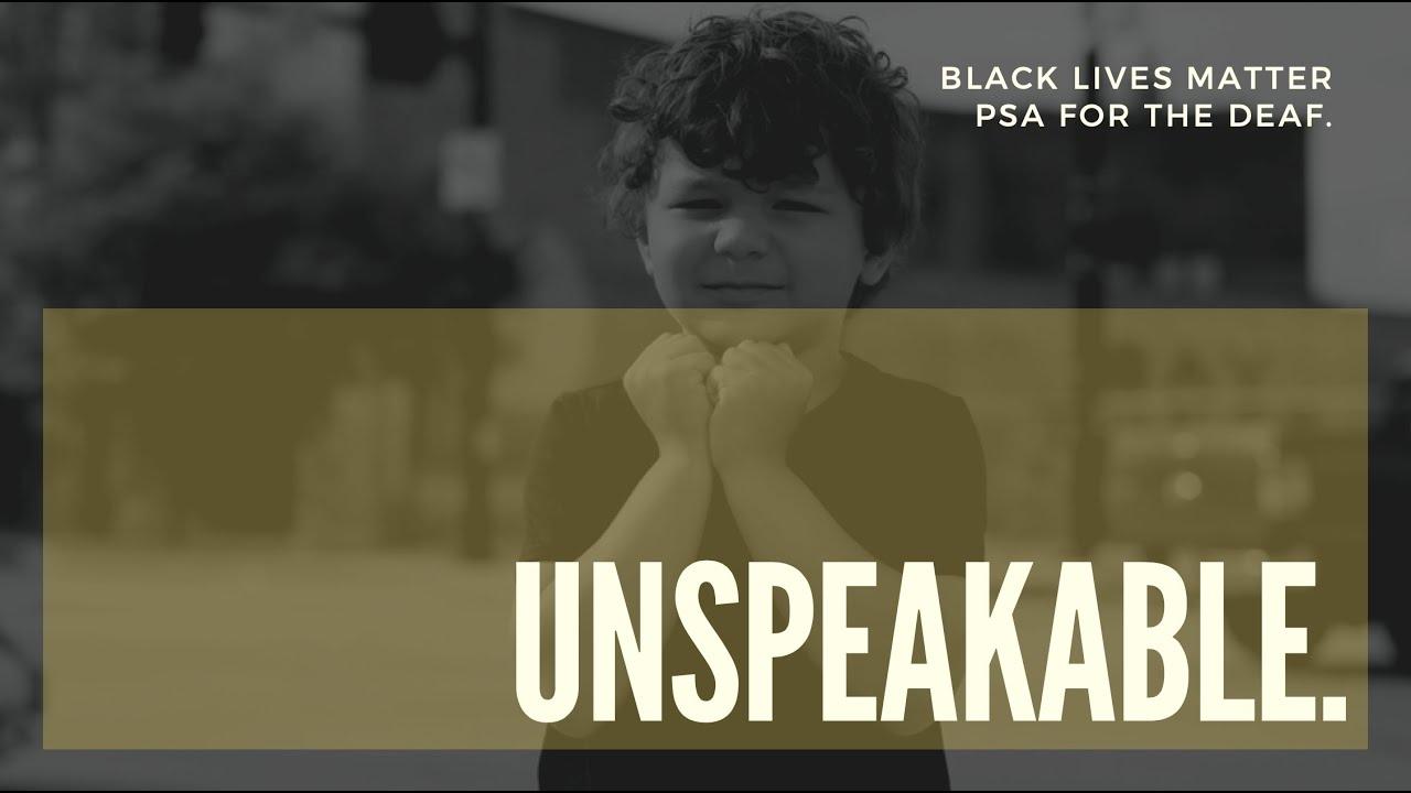 """""""Unspeakable"""""""
