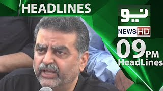 News Headlines - 09:00 PM | 22 June 2018 | Neo News
