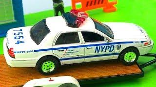 Carros de Policía para Niños - Persecuciones de Coches y Camiones Infantiles - Cars Toys Kids
