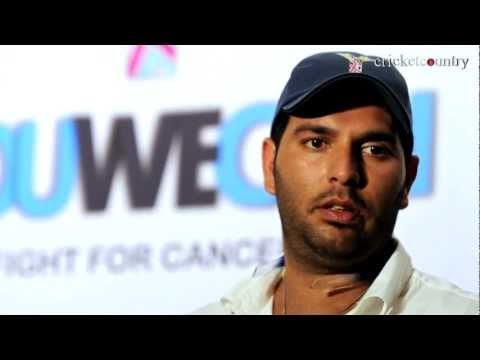 Yuvraj Singh gets emotional on World Cancer Day