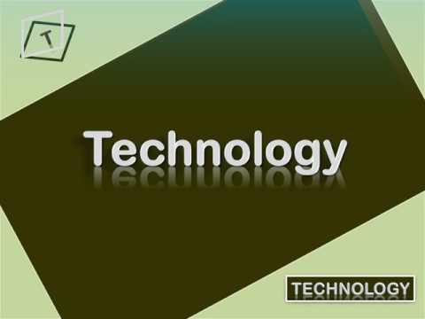 Ppt on technology