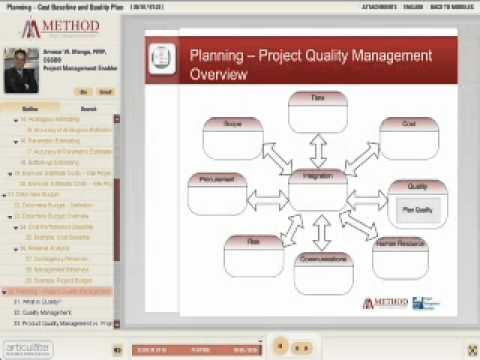 04 - The PM Process Groups 05 - Planning Process Group -- Cost and Quality Baselines Arabic.mp4