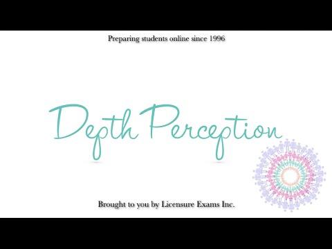 Depth Perception - ASWB, NCE, NCMHCE, MFT Exam Prep and Review