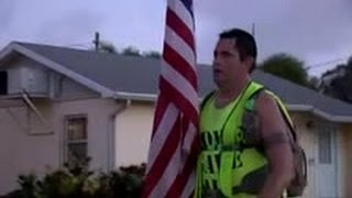 Clearwater man pounding the pavement to raise awareness and money for disabled veterans