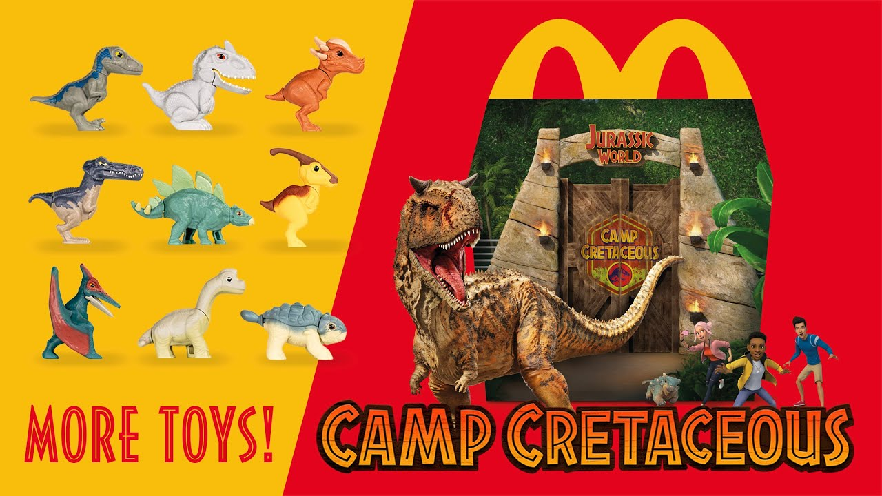 Download MORE Jurassic World Happy Meal Toys! Camp Cretaceous at McDonald's | collectjurassic.com