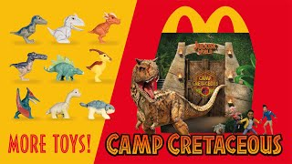 MORE Jurassic World Happy Meal Toys! Camp Cretaceous at McDonald's | collectjurassic.com