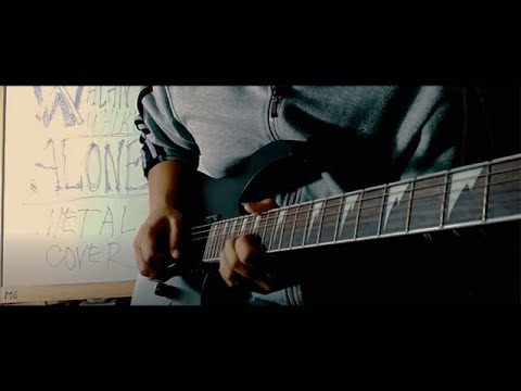 Alan Walker - Alone (Metal Version Cover) Testing Out My New Guitar