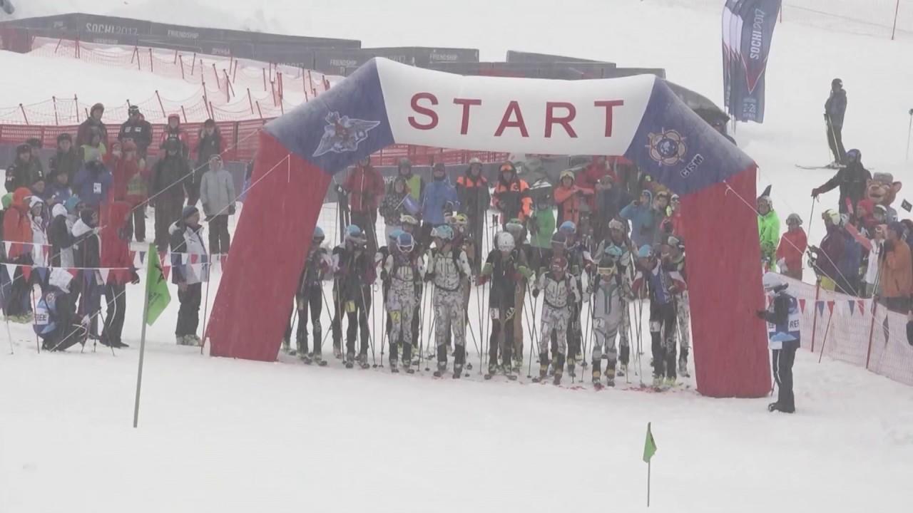 CISM2017 - 24 февраля. Ски-альпинизм. Индивидуальная гонка.