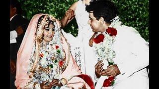 Unseen Wedding Pictures Of Dilip Kumar & Saira Banu