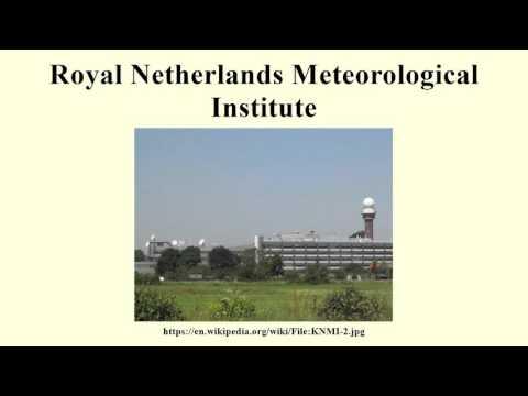Royal Netherlands Meteorological Institute