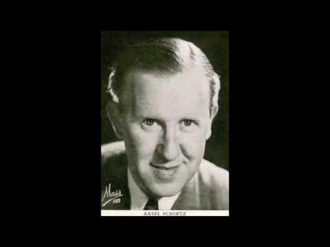 """""""Gud ske tak og lov""""  Aksel Schiötz med Herman D Koppel på klaver 1940"""