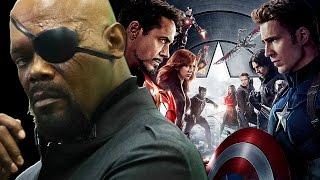 Where In Captain America Civil War Is Nick Fury?