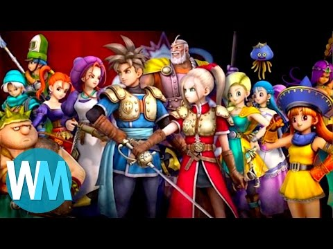 Make Top 10 Greatest Dragon Quest Characters Pictures