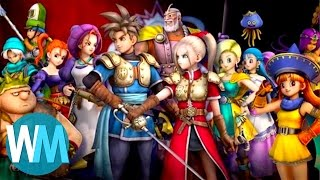 Top 10 Greatest Dragon Quest Characters