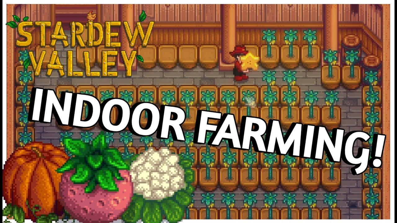 Turn Your Basement Into A Greenhouse New Content Stardew Valley 1 3 Update Youtube