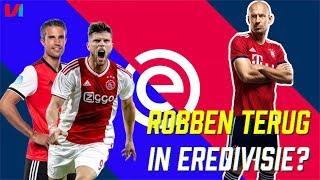 Robben Moet Net Als Van Persie & Huntelaar Afsluiten In De Eredivisie