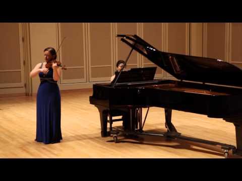 """Yulia Ziskel plays Tchaikovsky's """"Waltz-Scherzo"""""""