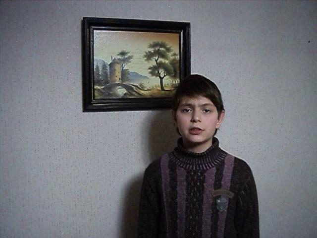 Изображение предпросмотра прочтения – АртёмЧерный читает произведение «Парус» М.Ю.Лермонтова