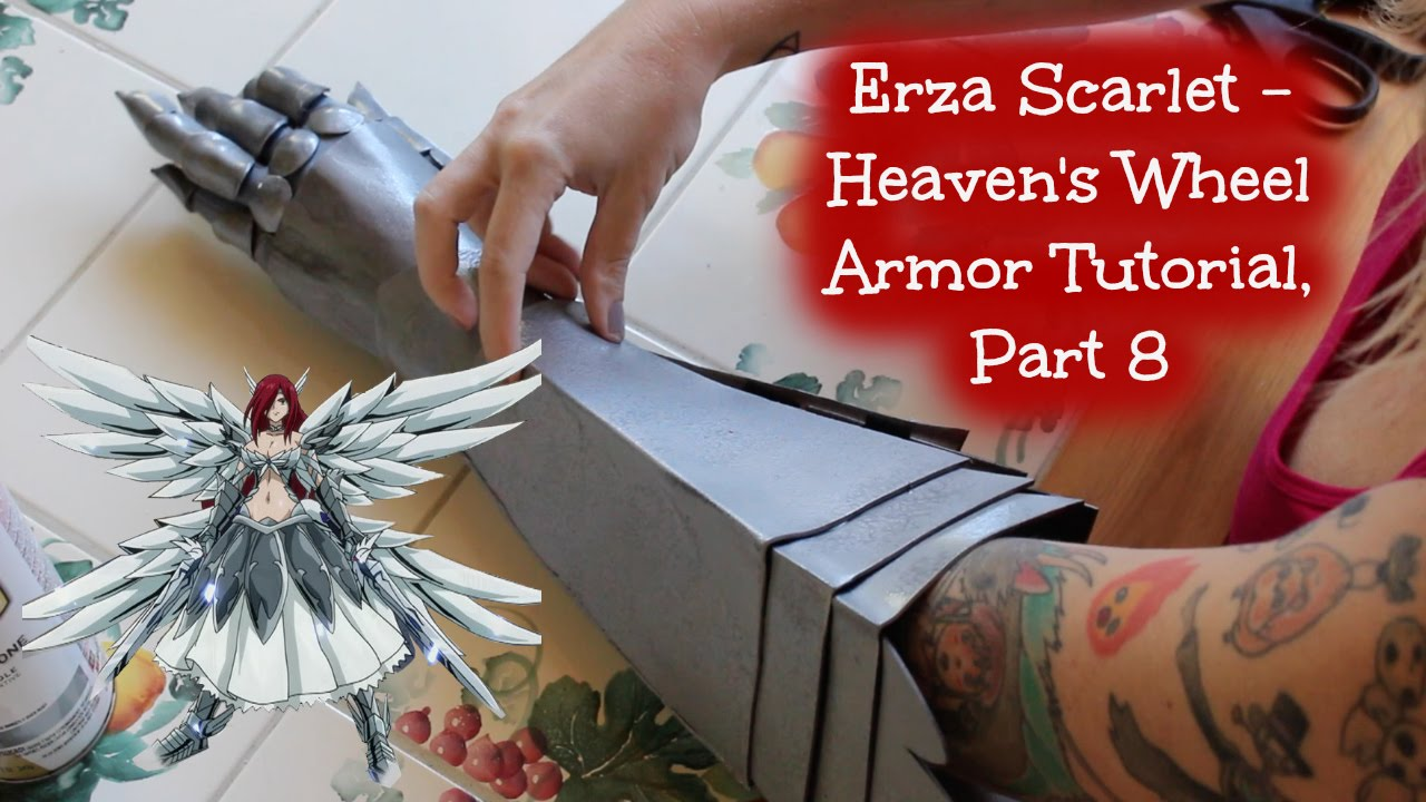 Erza Scarlet Heaven S Wheel Armor Cosplay Part 8 Youtube