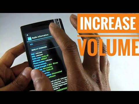 INCREASE VOLUME OF SPEAKER HEADPHONE MIC OF ANY ANDROID | BOOST PHONE VOLUME TO MAX POTENTIAL
