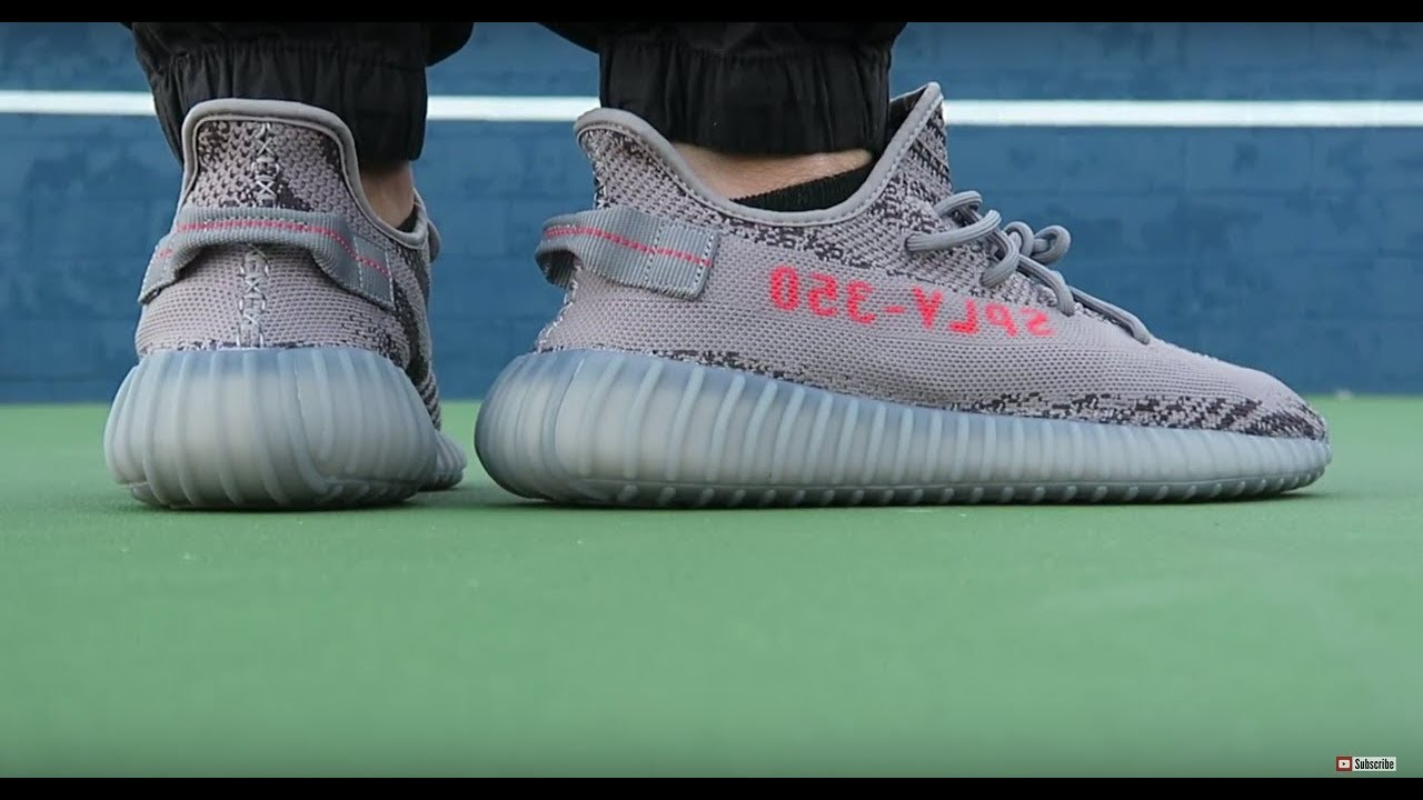 262ebe911872fd YEEZY BOOST 350 V2 BELUGA ON FEET REVIEW😱 - YouTube